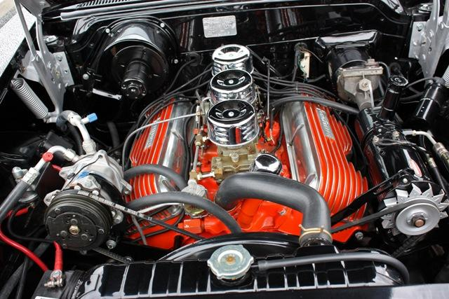 1958 CHEVROLET IMPALA 2 DOOR COUPE - Engine - 116322