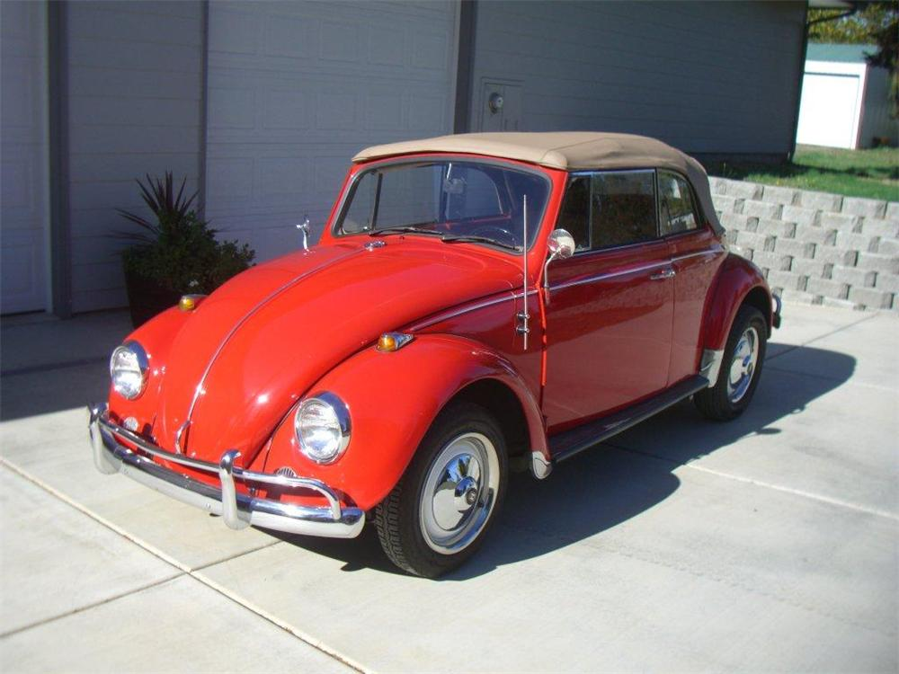 1967 volkswagen beetle convertible 116326. Black Bedroom Furniture Sets. Home Design Ideas
