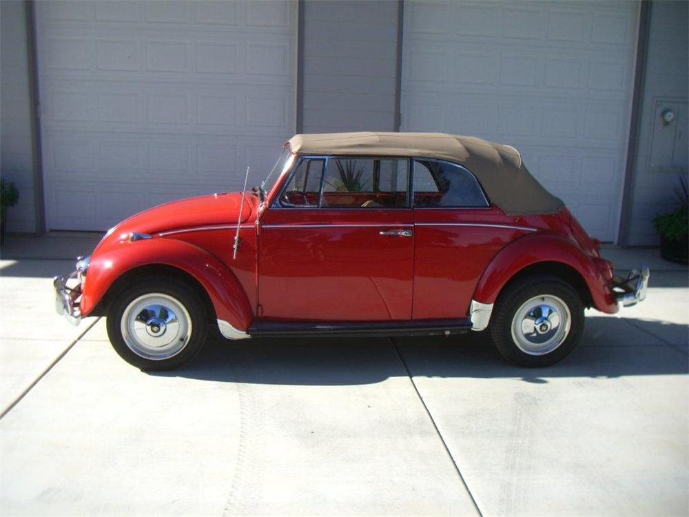 1967 VOLKSWAGEN BEETLE CONVERTIBLE - Side Profile - 116326
