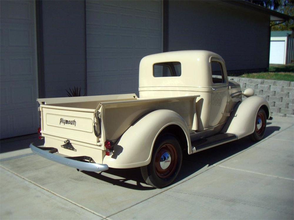1937 PLYMOUTH PT-50 PICKUP - Rear 3/4 - 116327