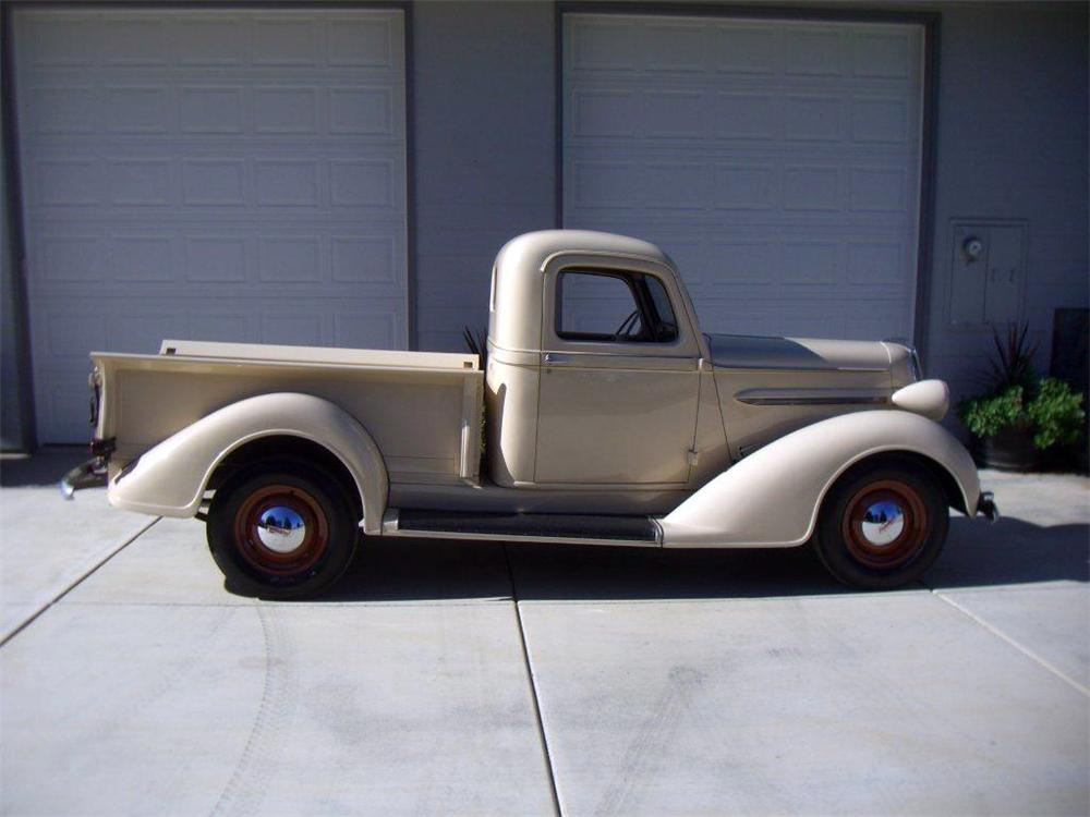 1937 PLYMOUTH PT-50 PICKUP - Side Profile - 116327