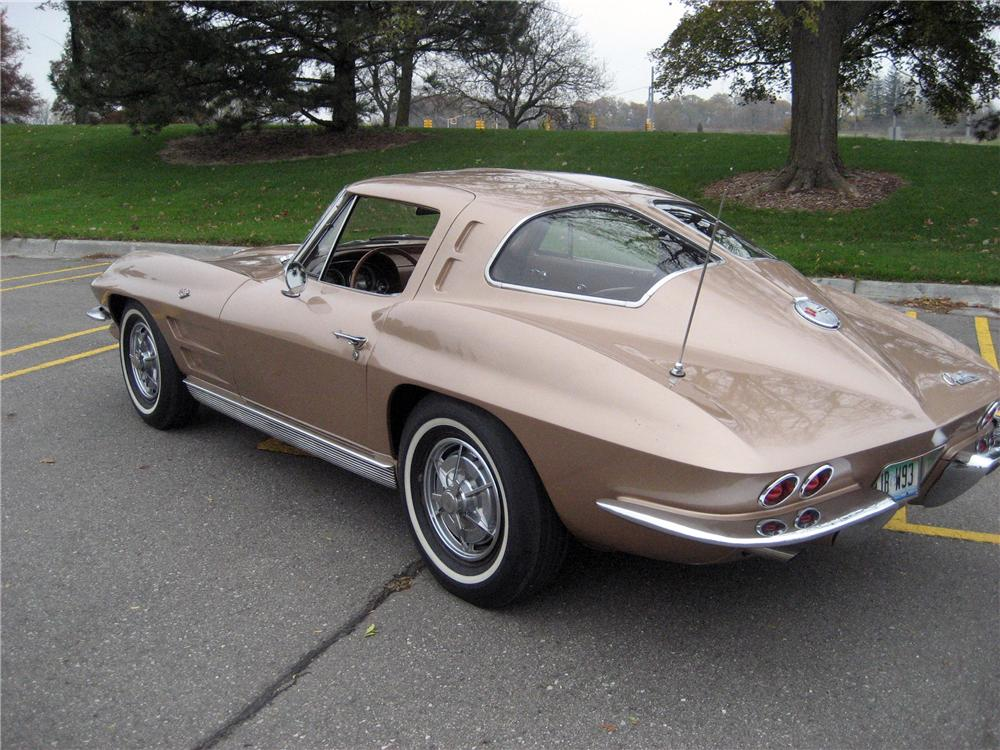 1963 chevrolet corvette split window coupe 116329
