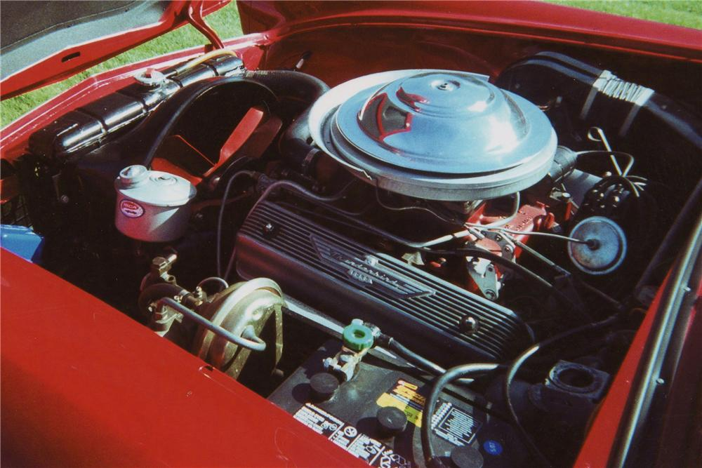 1955 FORD THUNDERBIRD CONVERTIBLE - Engine - 116338