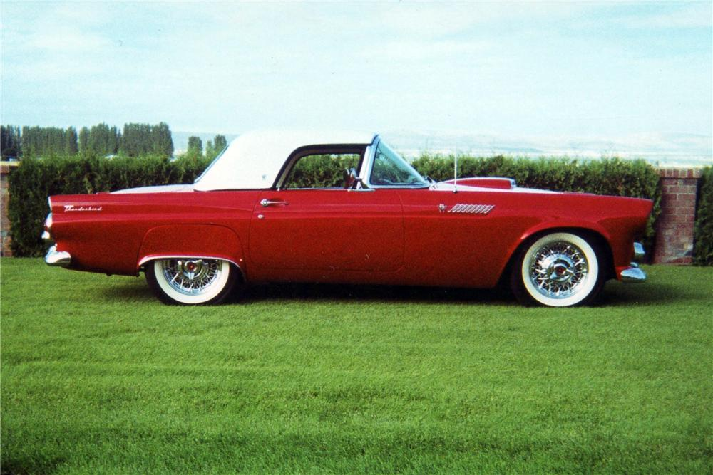 1955 FORD THUNDERBIRD CONVERTIBLE - Side Profile - 116338