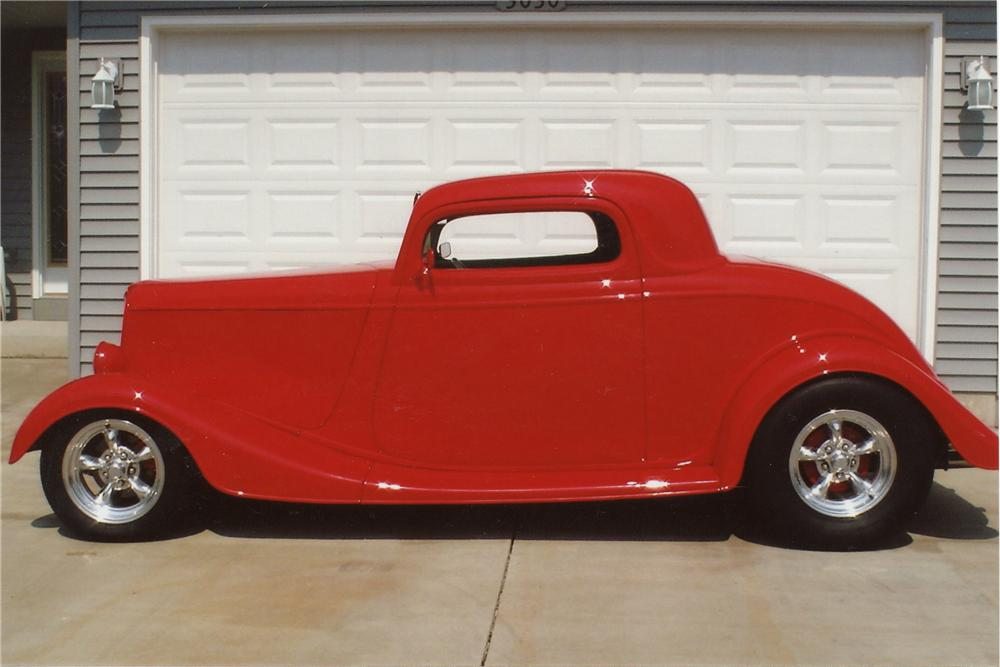 1933 ford 3 window custom 2 door coupe 116342 for 1933 ford 3 window