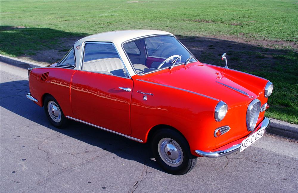 1959 GOGGOMOBIL TS-250 COUPE - Front 3/4 - 116344