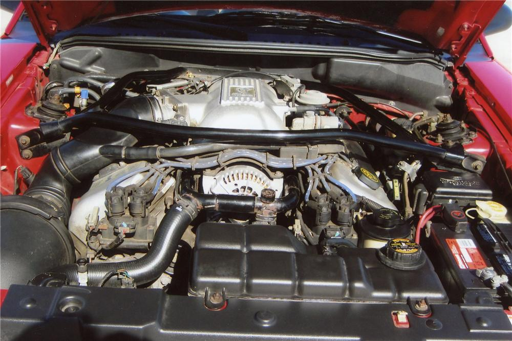 1997 FORD MUSTANG COBRA SVT CONVERTIBLE - Engine - 116346