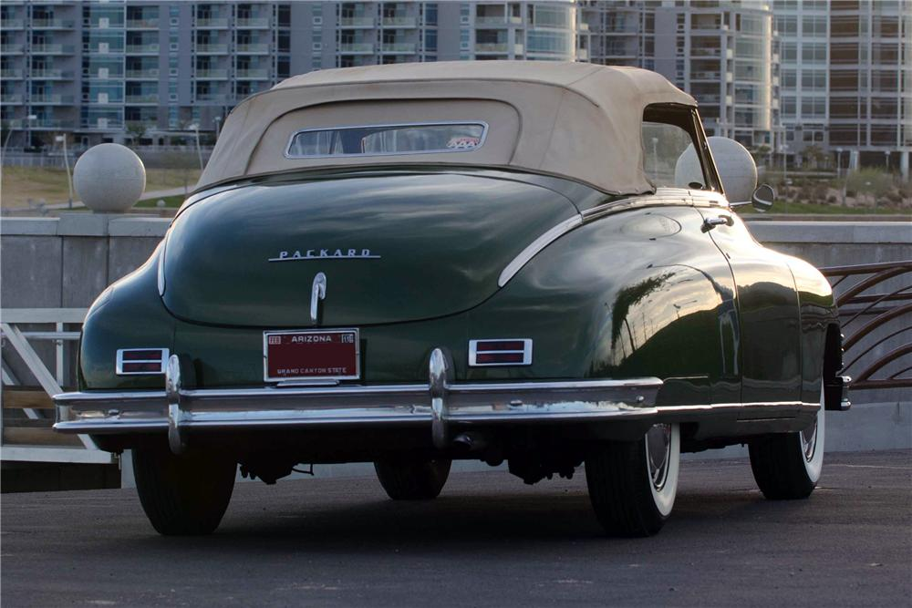 1949 PACKARD VICTORIA CONVERTIBLE - Rear 3/4 - 116348
