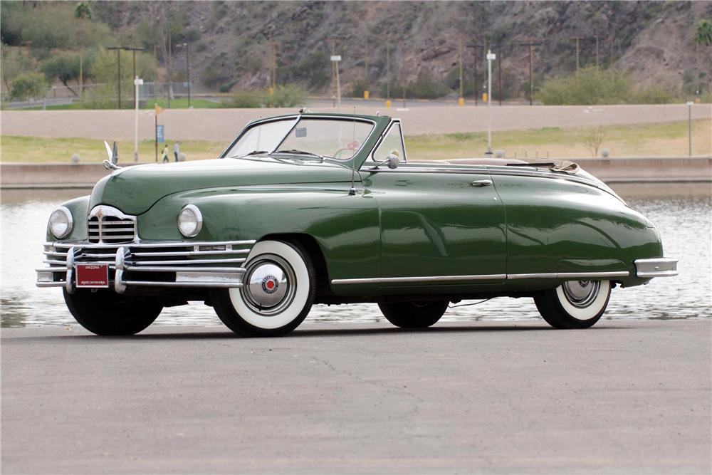 1949 PACKARD VICTORIA CONVERTIBLE - Side Profile - 116348