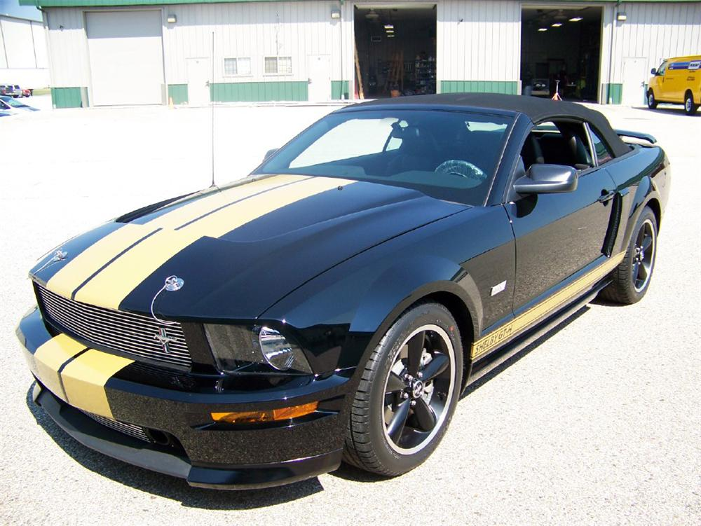 2007 FORD SHELBY GT-H CONVERTIBLE - Front 3/4 - 116349