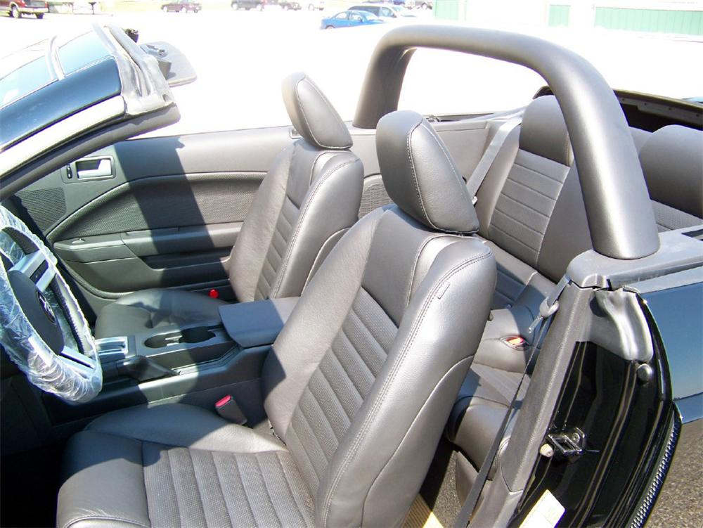 2007 FORD SHELBY GT-H CONVERTIBLE - Interior - 116349