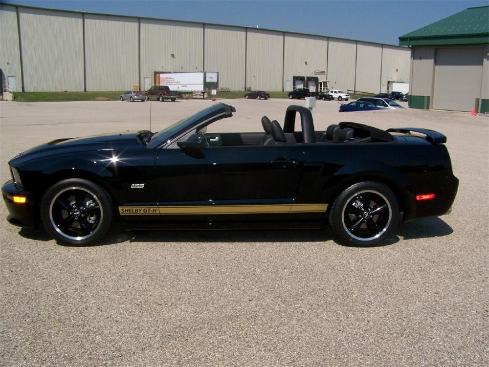2007 FORD SHELBY GT-H CONVERTIBLE - Side Profile - 116349