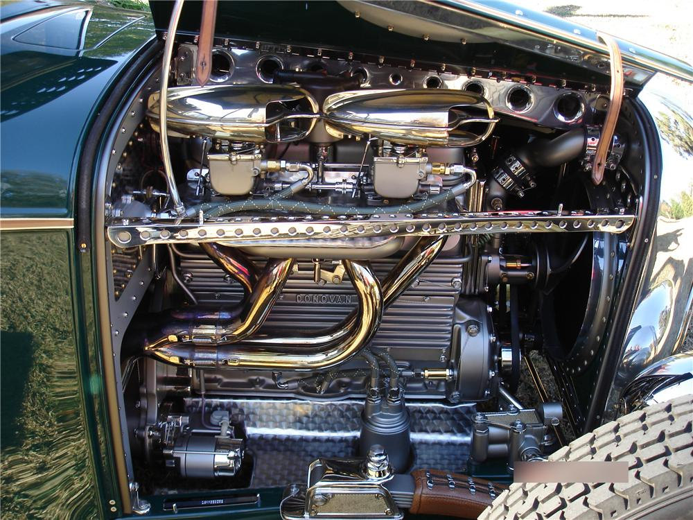 1932 FORD CUSTOM PICKUP - Engine - 116351