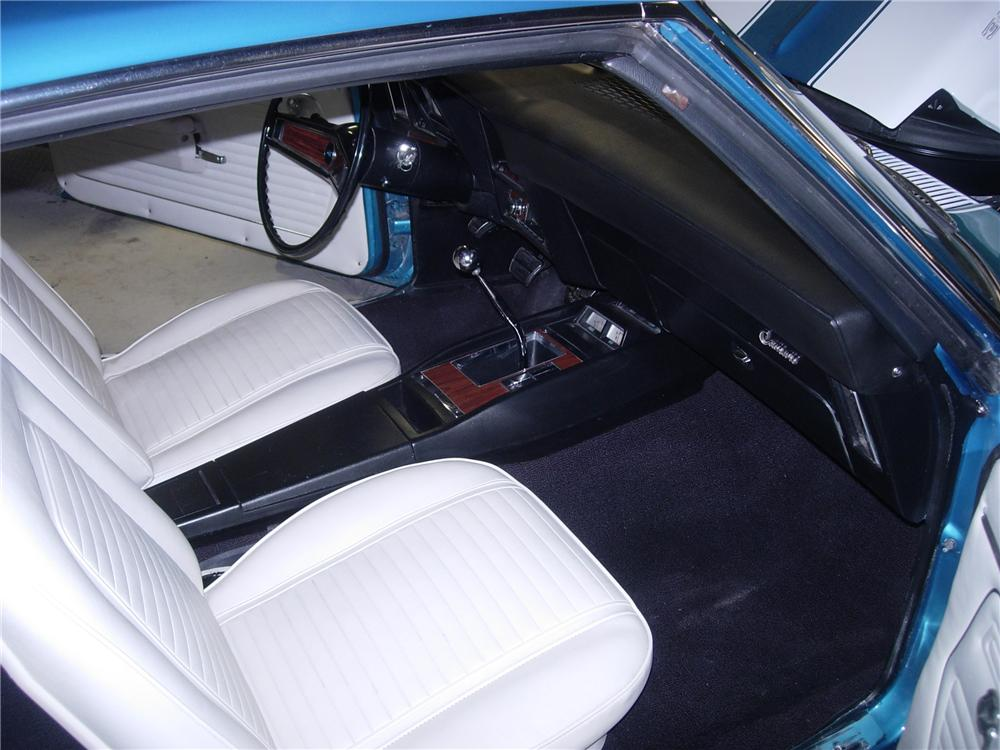 1969 CHEVROLET CAMARO Z/28 2 DOOR COUPE - Interior - 116352