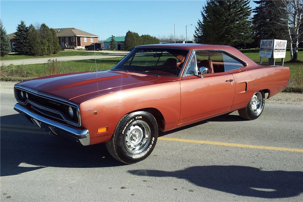 1970 PLYMOUTH ROAD RUNNER 2 DOOR COUPE - Front 3/4 - 116354