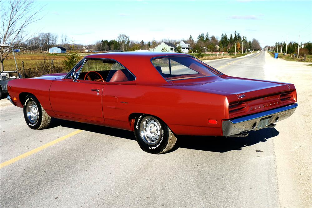 1970 PLYMOUTH ROAD RUNNER 2 DOOR COUPE - Rear 3/4 - 116354