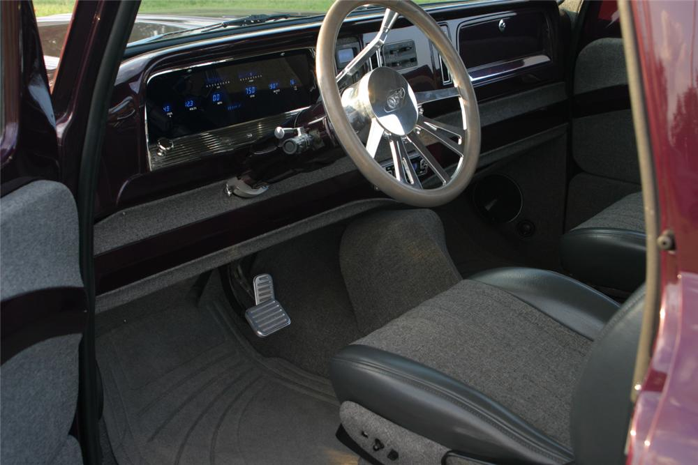 1964 CHEVROLET C-10 CUSTOM PICKUP - Interior - 116357