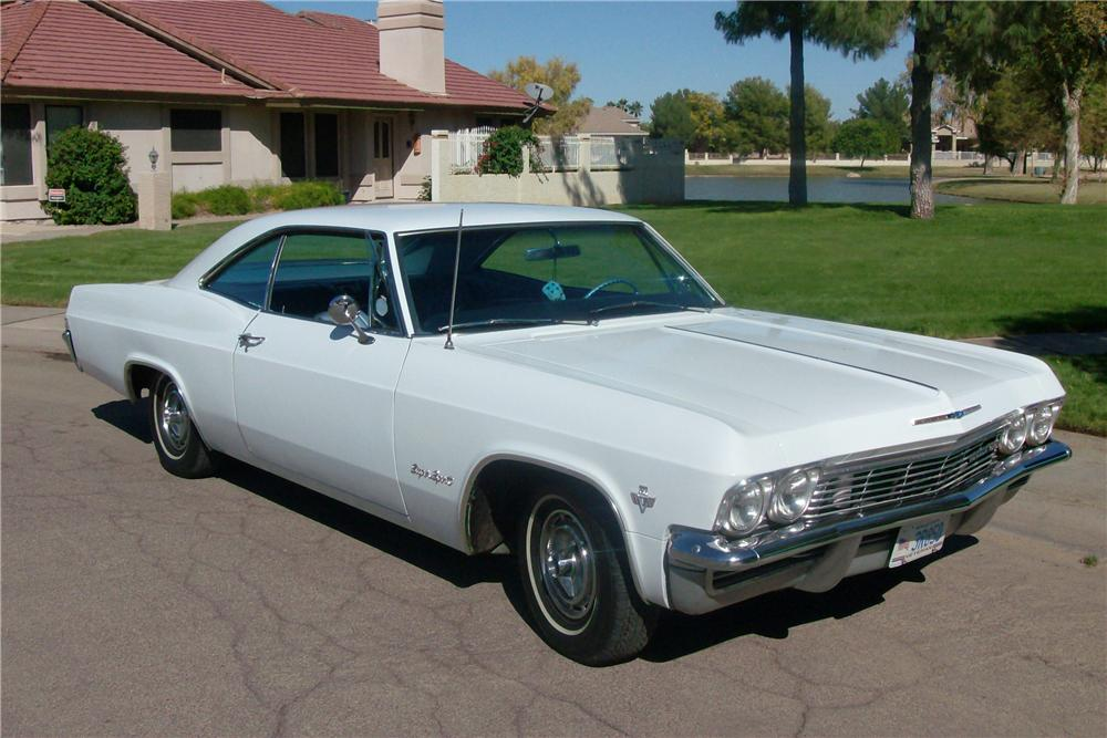 1965 CHEVROLET IMPALA SS 2 DOOR COUPE - Front 3/4 - 116358