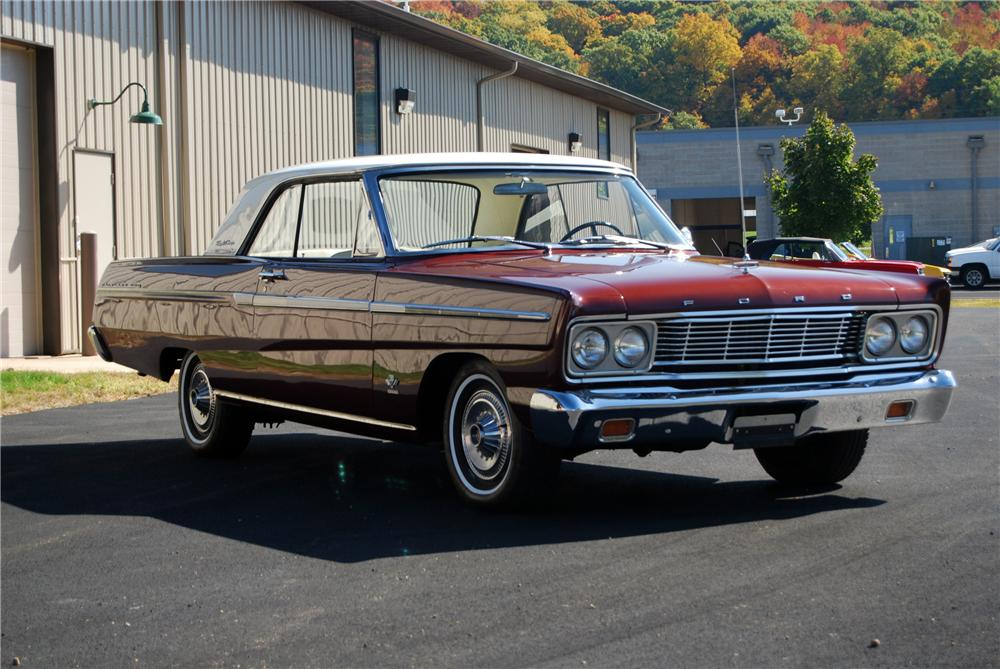 1965 FORD FAIRLANE 500 SPORT COUPE - Front 3/4 - 116365