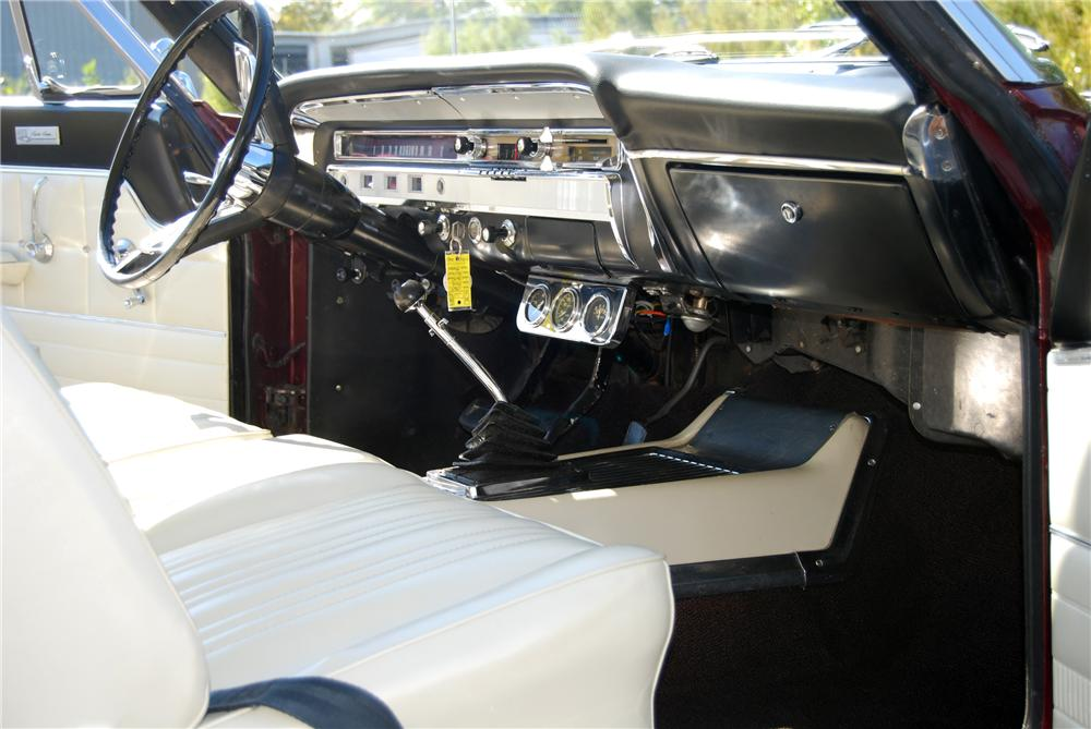 1965 FORD FAIRLANE 500 SPORT COUPE - Interior - 116365