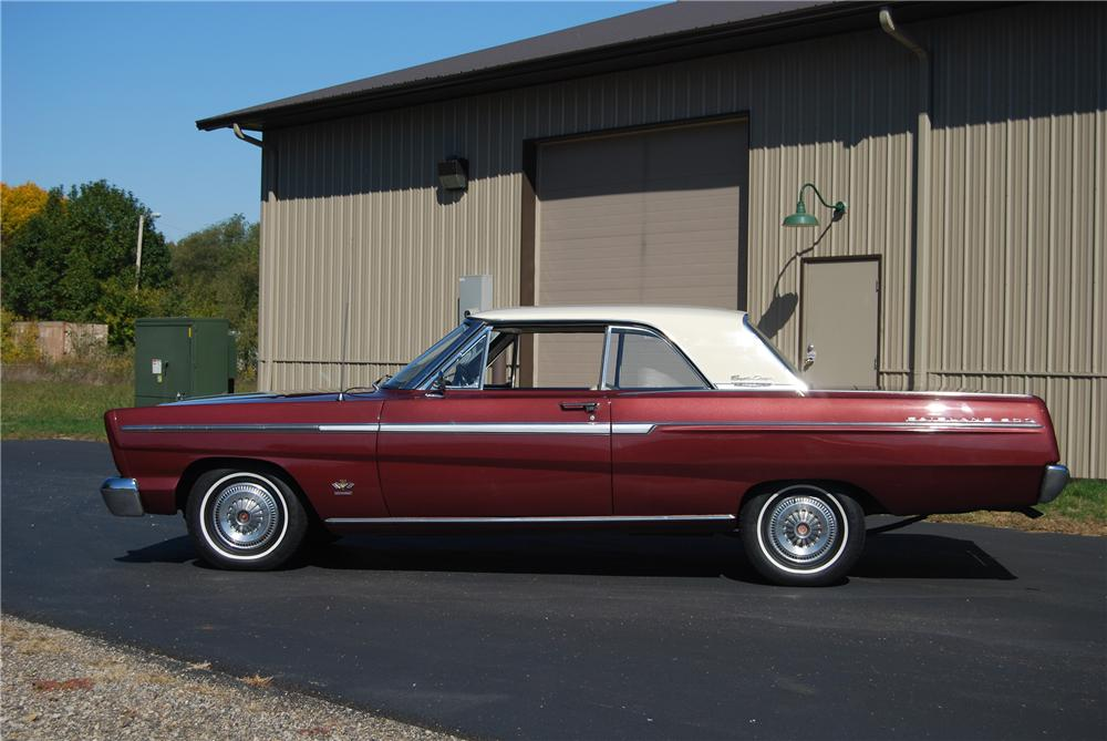 1965 FORD FAIRLANE 500 SPORT COUPE - Side Profile - 116365