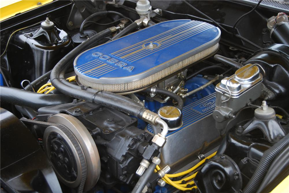 1971 FORD TORINO GT CONVERTIBLE - Engine - 116366