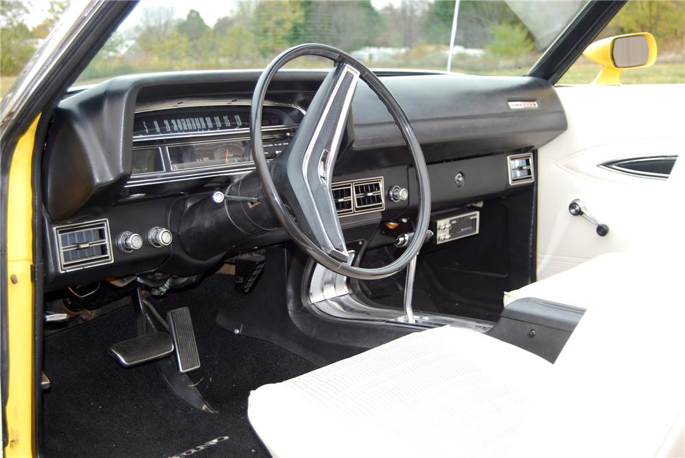 1971 FORD TORINO GT CONVERTIBLE - Interior - 116366