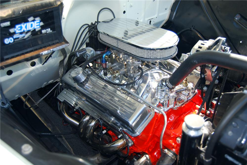 1955 CHEVROLET CAMEO CUSTOM PICKUP - Engine - 116367