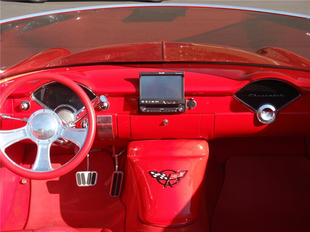 1955 CHEVROLET 210 CUSTOM TOPLESS ROADSTER - Interior - 116371