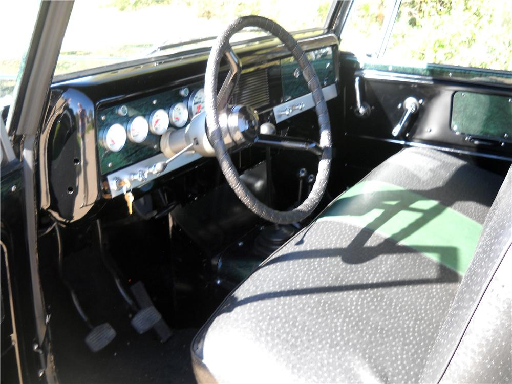 1966 INTERNATIONAL SCOUT CUSTOM PICKUP - Interior - 116373
