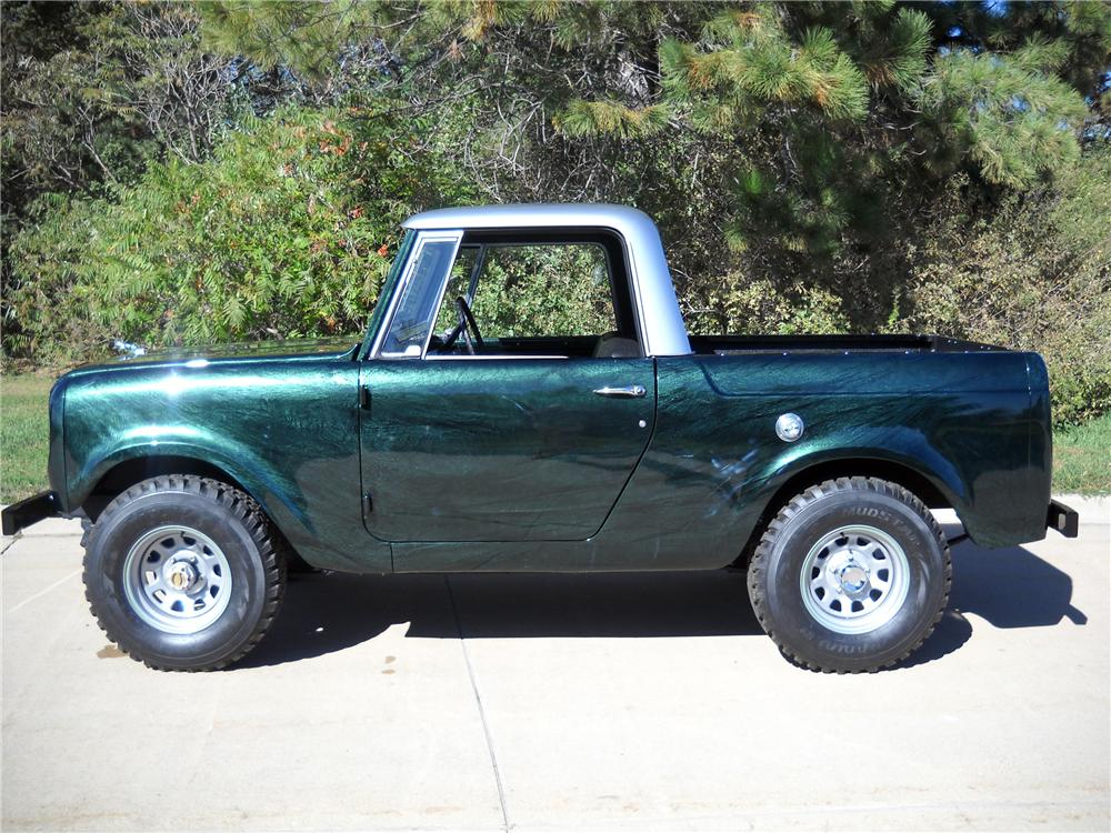 1966 INTERNATIONAL SCOUT CUSTOM PICKUP - Side Profile - 116373