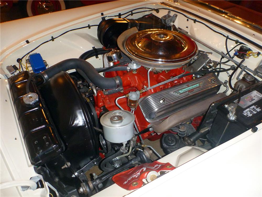 1957 FORD THUNDERBIRD CONVERTIBLE - Engine - 116382