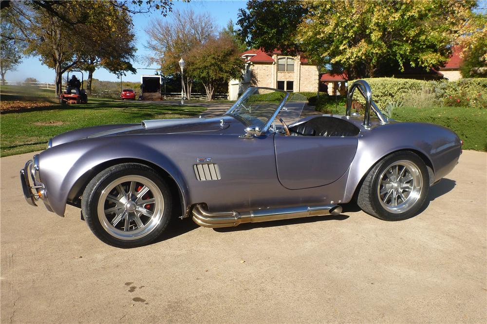 1965 FACTORY FIVE SHELBY COBRA RE-CREATION ROADSTER - Side Profile - 116384
