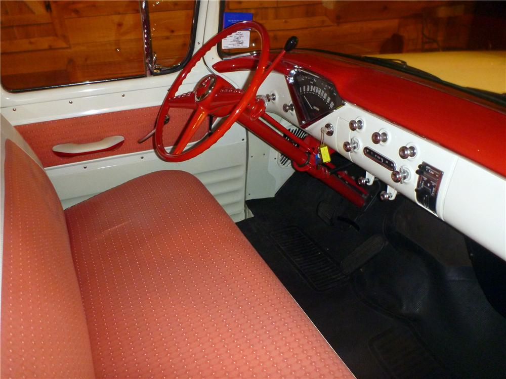 1955 CHEVROLET CAMEO PICKUP - Interior - 116389