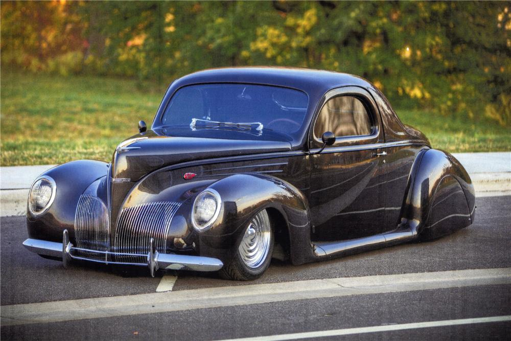 1939 lincoln zephyr custom 2 door coupe 116393 for 1939 lincoln zephyr 3 window coupe