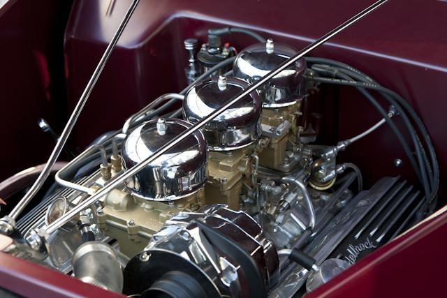 1935 FORD CUSTOM CONVERTIBLE - Engine - 116395