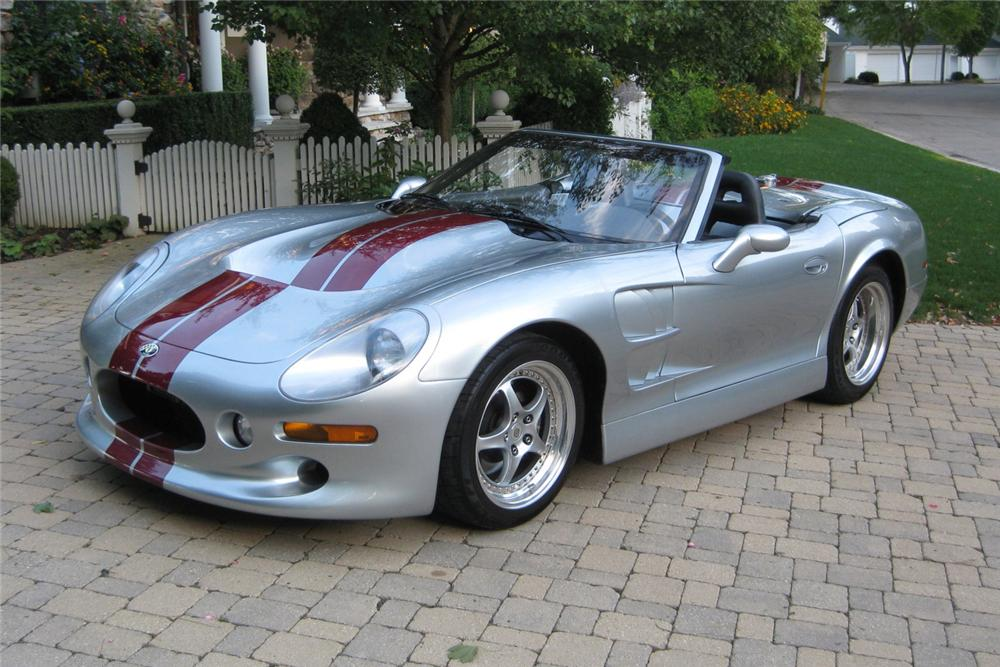 1999 SHELBY SERIES 1 CONVERTIBLE - Front 3/4 - 116396
