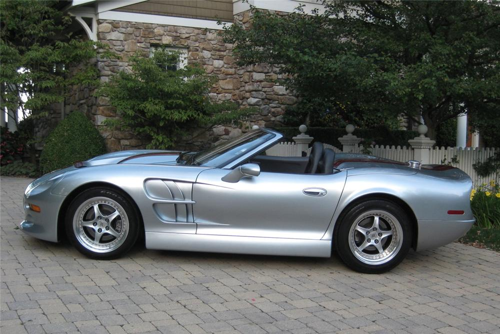 1999 SHELBY SERIES 1 CONVERTIBLE - Side Profile - 116396