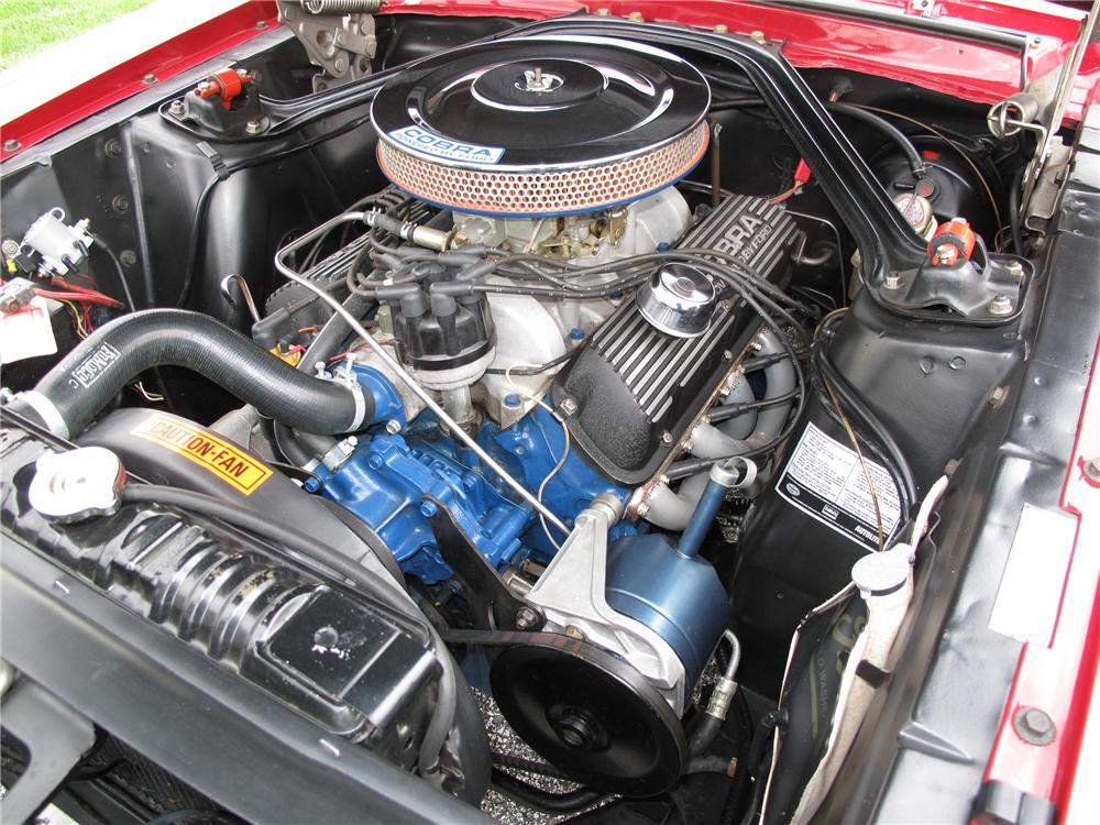 1967 SHELBY GT350 FASTBACK - Engine - 116397