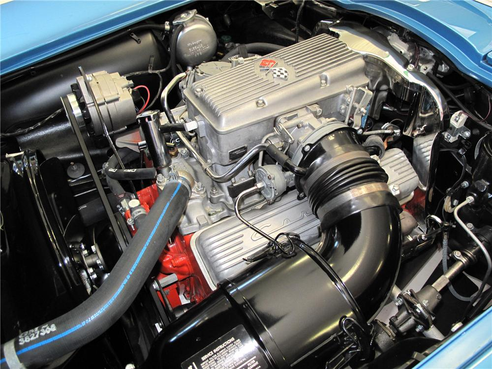 1965 CHEVROLET CORVETTE CONVERTIBLE - Engine - 116398