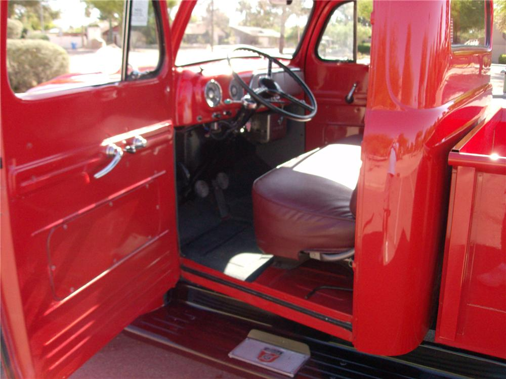 1952 FORD F-1 PICKUP - Interior - 116399