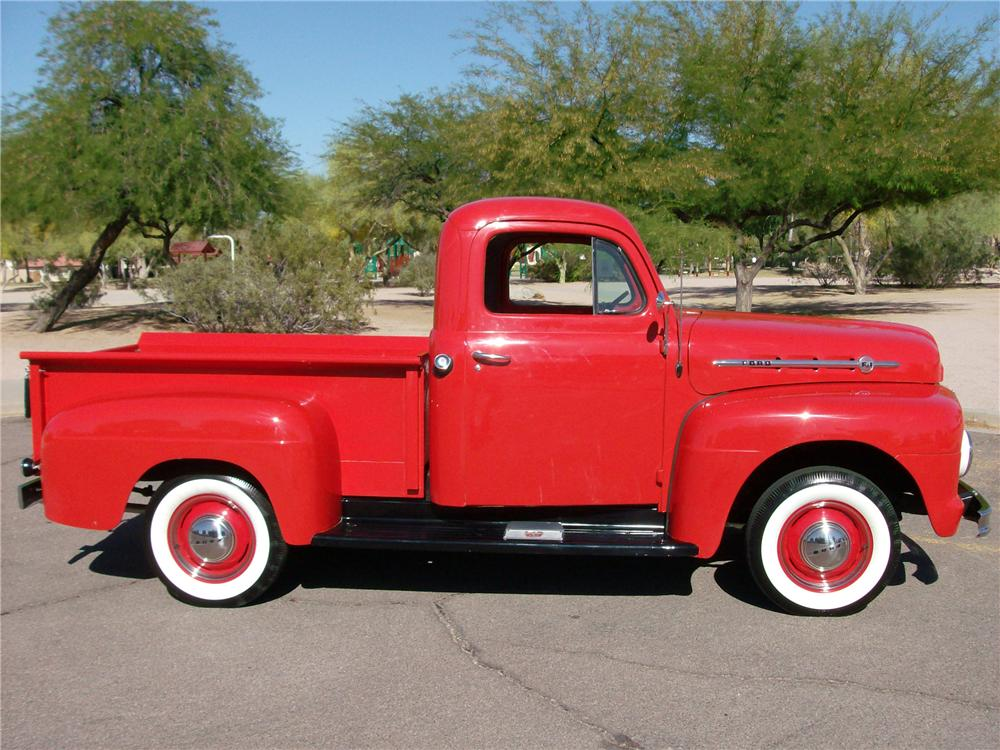 1952 FORD F-1 PICKUP - Side Profile - 116399