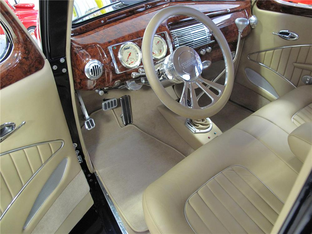 1940 FORD DELUXE CUSTOM 2 DOOR COUPE - Interior - 116400
