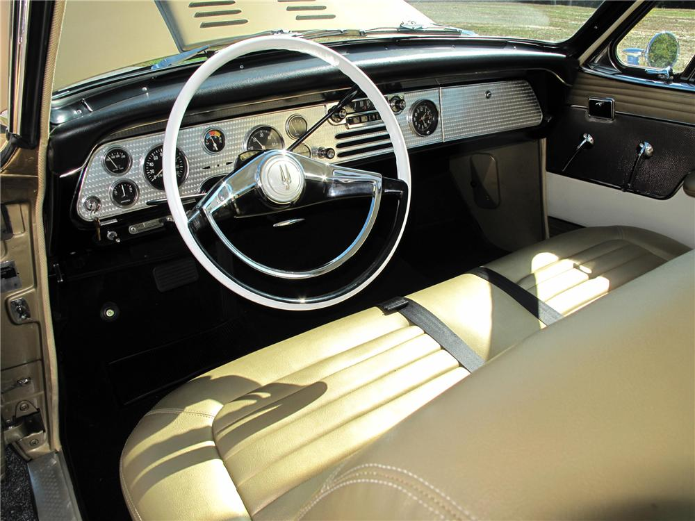 1957 STUDEBAKER GOLDEN HAWK 2 DOOR COUPE - Interior - 116401