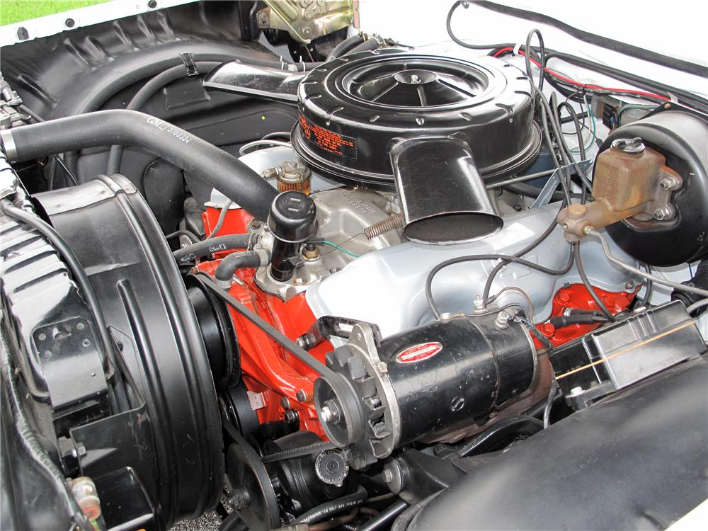 1961 CHEVROLET IMPALA SS CONVERTIBLE - Engine - 116407