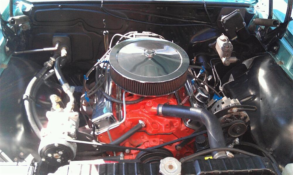 1967 CHEVROLET EL CAMINO PICKUP - Engine - 116415