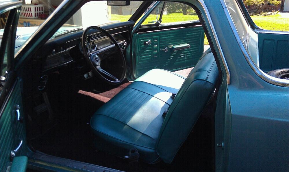 1967 CHEVROLET EL CAMINO PICKUP - Interior - 116415