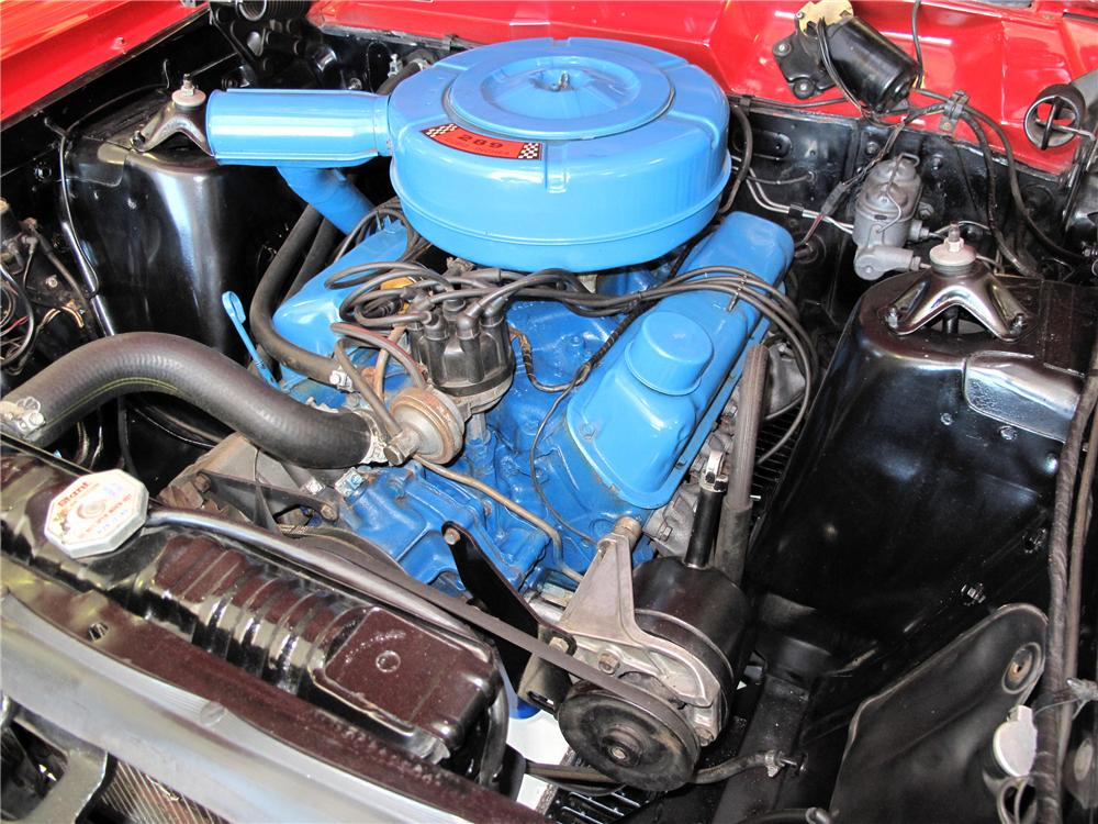 1967 FORD FAIRLANE 500 CONVERTIBLE - Engine - 116417