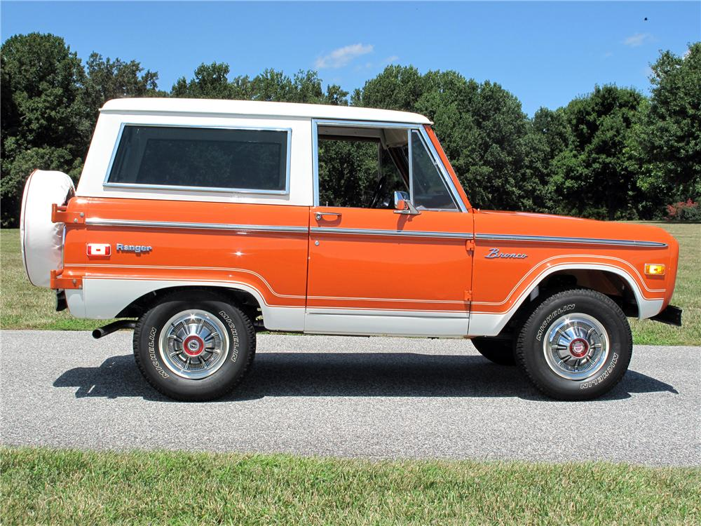 1974 FORD BRONCO SUV - Side Profile - 116420