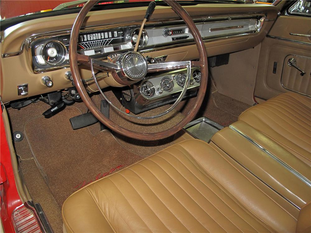 1965 FORD FALCON CONVERTIBLE - Interior - 116423